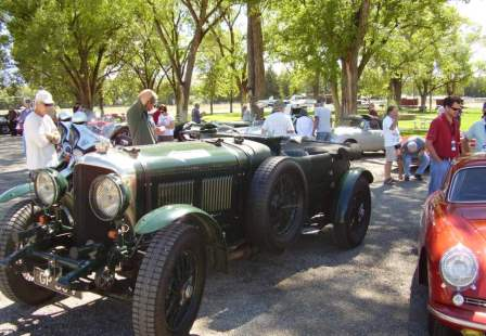 Colorado Grand Car Tour in Hotchkiss Fairgrounds Park