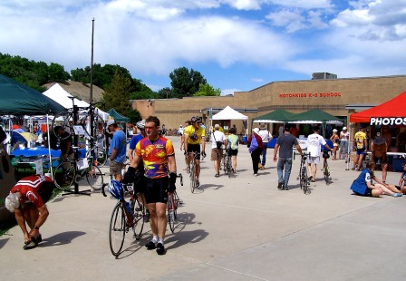 Ride the Rockies Bike Tour Headquarters Hotchkiss K8 School