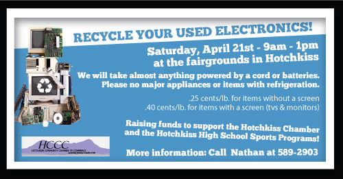 Hotchkiss 2018 E-Waste information.