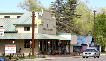 Downtown Hotchkiss Colorado